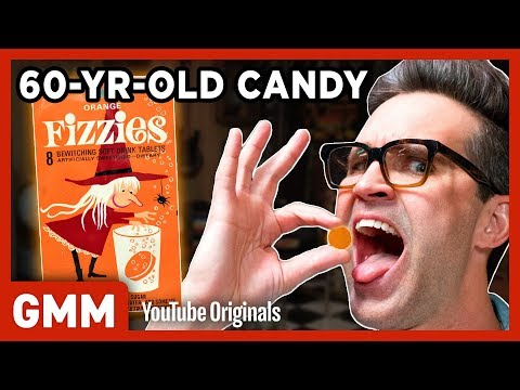 60-Year-Old Candy Taste Test