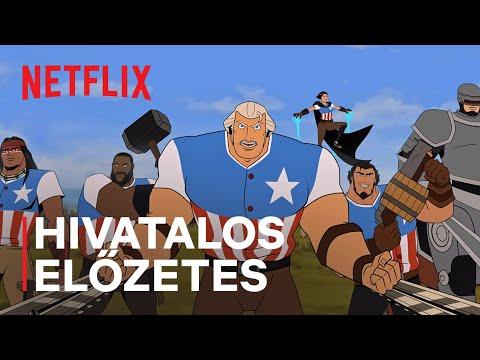 Amerika: A mozgókép   Channing Tatum   Hivatalos előzetes   Netflix