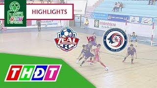 Highlights Futsal Truyền hình Đồng Tháp 2018 | Zeal Khánh Hòa FC vs Bạch Mai Cần Thơ | THDT