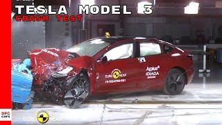 Tesla Model 3 Crash Test & Rating