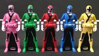 đồ chơi siêu nhân thần kiếm Power Rangers Samurai Toys 파워레인저 블레이드포스 레인저키 장난감