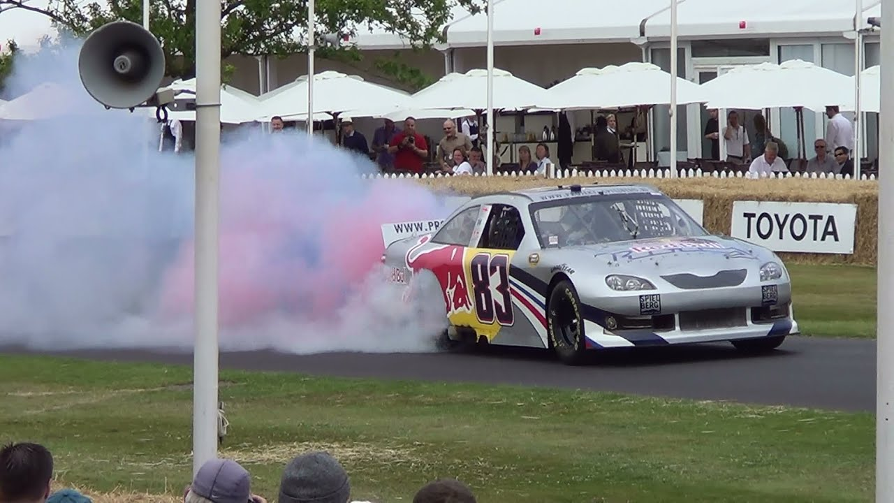 more highlights of good wood festival of speed burn outs