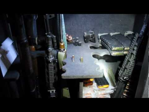 My Gun Safe And Modifications Youtube