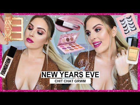 New Years Eve GRWM! ✨ inspiration for NYE makeup!