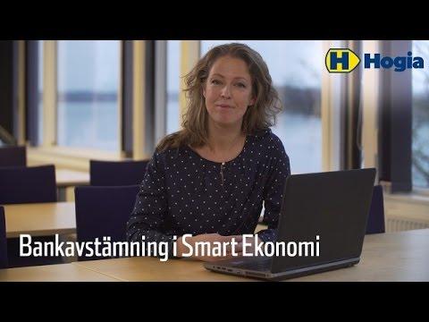 Bankavstämning i Smart Ekonomi