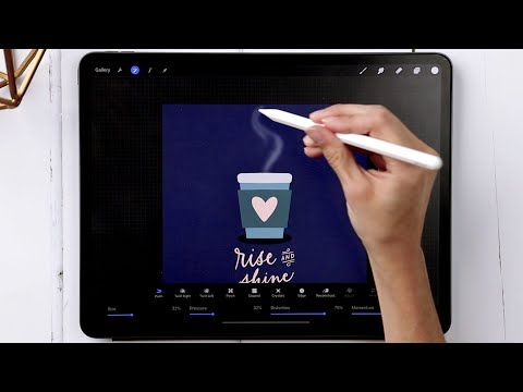 Steaming Coffee Animation in Procreate 5