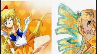 Bình chọn Winx Club (cartoon) vs Sailor Moon (Anime)