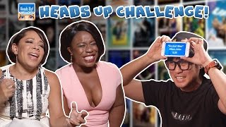 Heads Up Challenge - Featuring Uzo Aduba and Selenis Levya