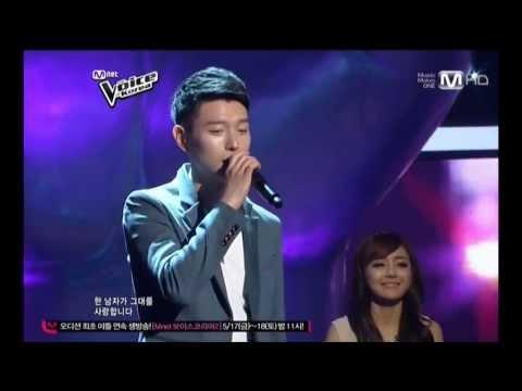 Mnet Voice of Korea. 해군 홍보단 배두훈의 그 남자