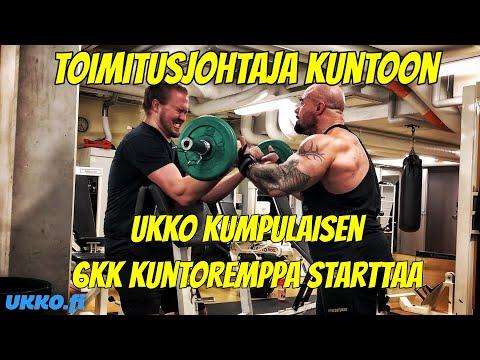 TOIMITUSJOHTAJA KUNTOON - UKKO KUMPULAISEN 6KK KUNTOREMPPA STARTTAA