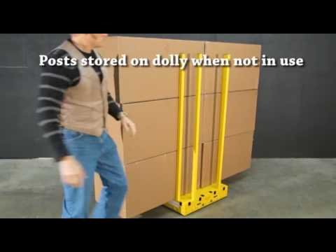 How the yel-Low Safety Dolly works