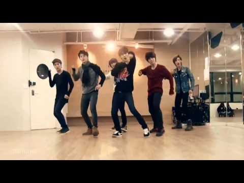 Boyfriend - I Yah mirrored Dance Practice