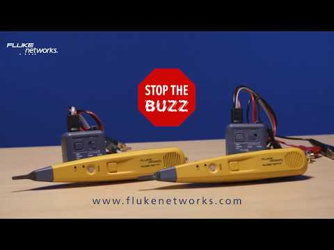 """Stop the BUZZ""  Find cables faster with clear, precise toning. The Fluke Networks Pro3000F Filtered Probe's innovative filter removes interference 50 or 60 Hz signals in the environment caused by sources such as power cables and lighting when listening for tone. The probe's powerful speaker makes tracing cables through drywall easy. The toner's SmartTone™ technology allows for exact pair identification. For more information visit: www.FlukeNetworks.com"