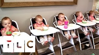 Feeding And Bathing 5 Babies   Outdaughtered   S2 Episode 1