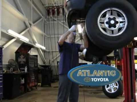 Atlantic Toyota TV Commerical - Toyota Service Department Lynn MA