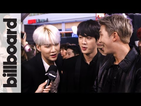 BTS Sings Camila Cabello's 'Havana' & Shows Off Some Red Carpet Dance Moves!   AMAs 2017