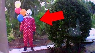 5 Killer Clowns Caught on Camera : Pennywise, the It movie, and the NEW Clown Sightings of 2017