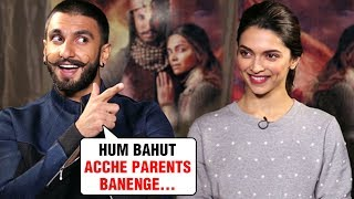 Deepika Padukone And Ranveer Singh REVEAL Their Parenting ..