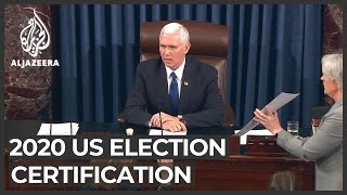 More Republicans say they will object to US election results
