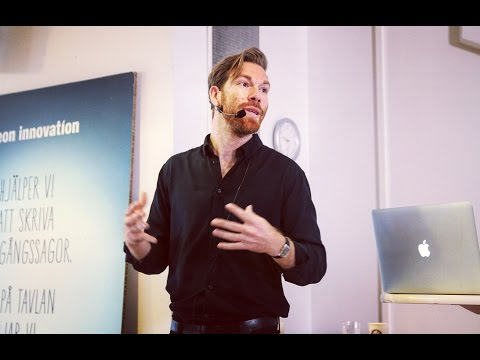 Forskarfrukost 2 2016  Marcus Klasson, 'Så kan surdegspappan rädda ditt varumärke'