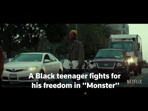 Black teenager fights for freedom, identity in 'Monster' photo