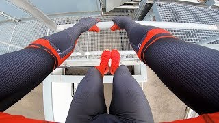 SPIDERMAN Fights Crime - Real Life Parkour POV Chase
