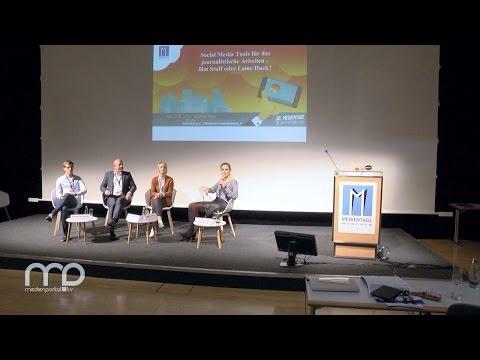 Diskussion: Social Media Tools für das journalistische Arbeiten