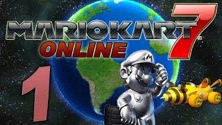 Let's Play Mario Kart 7 Online Part 1: Kartfahren um und gegen die Welt!