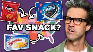 What's The Most Popular Snack In Each State?