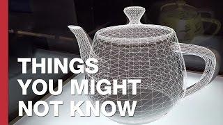 The World's Most Famous Teapot: The Utah Teapot