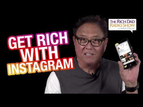 Get Rich With Instagram -Robert Kiyosaki