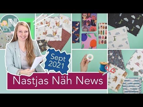 Nastjas Näh News September 2021 – Herbststoffe, Herbstschnitte und mega Verlosung!