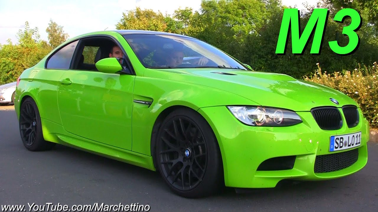 Green Bmw M3 E92 Lovely Hartge Exhaust Sound Youtube