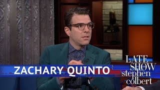 Zachary Quinto: We're 'Foolhardy' To Think We're The Only Intelligent Lifeforms