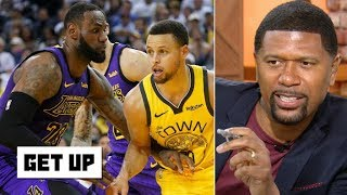 Jalen Rose: LeBron won't be guarding Steph Curry, other point guards | Get Up