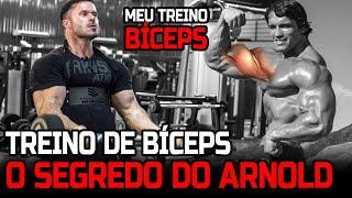 O SEGREDO DO ARNOLD - TREINO DE BÍCEPS