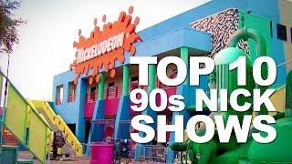 Top Ten Nickelodeon Shows of the 90s!