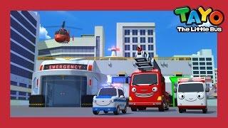 Tayo Season 4 New Emergency Center l Rescue Team l Tayo the Little Bus