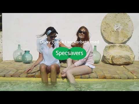 Säsongens snyggaste solglasögon tillsammans med Daisy Grace