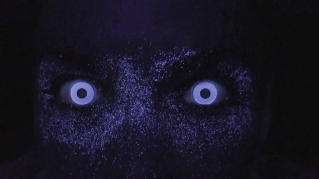 White Glow Contact Lenses (White UV) - YouTube