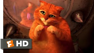 Shrek Forever After (2010 - Puss Let Himself Go Scene (6/10) | Movieclips