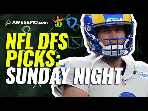 NFL Showdown DFS Picks for DraftKings & FanDuel Week 1 Sunday Night Football Rams vs. Bears