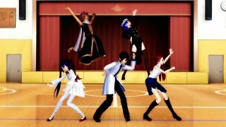 [MMD]Fairy Tail - Cafeteria Song (Request)