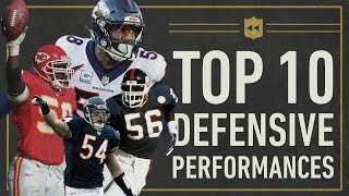 The Top 10 Greatest Single-Game Defensive Performances in NFL History   Vault Stories