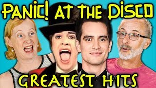 ELDERS READ PANIC! AT THE DISCO'S HIT SONGS (React)