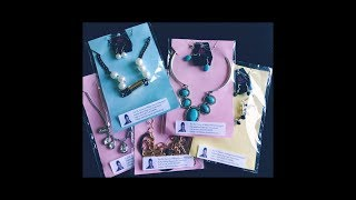 How to Create Easy Bling Bag Jewelry Displays