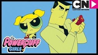 The Powerpuff Girls   Bubbles and the Professor   Cartoon Network
