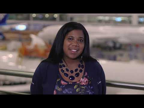 screenshot of youtube video titled Kristina Mauger, 787 Production Engineering Director | Let's Go! CAREERS