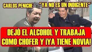 CARLOS PENICHE sobrino de ARTURO PENICHE ya no es UN INDIGENTE trabaja como CHOFER