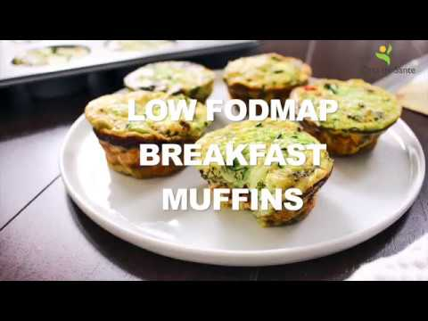 Low FODMAP Breakfast Muffins